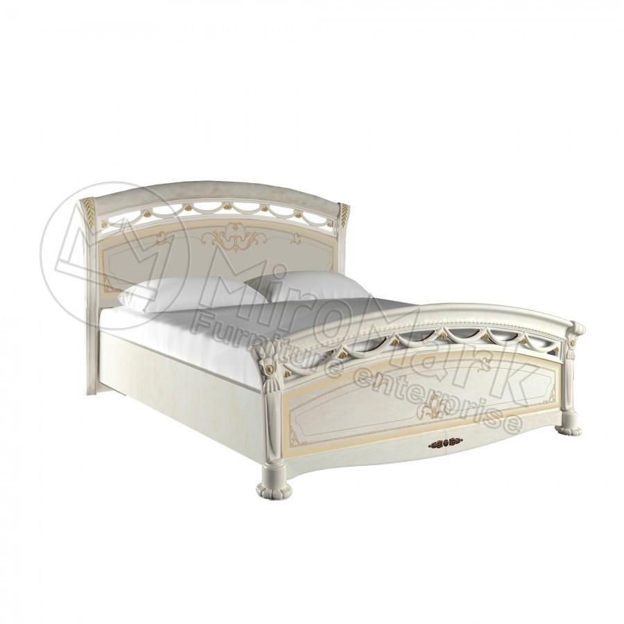 Кровать 160х200 Роселла Люкс с каркасом Миро-Марк