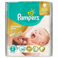 Подгузники Pampers Premium Care Mini 2 (3-6 кг), 80шт