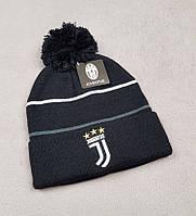 Футбольная шапка Ювентус (черная)