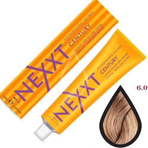 Крем-краска для волос Nexxt Professional 6.0 темно-русый натуральный 100ml