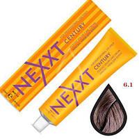 Крем-краска для волос Nexxt Professional 6.1 темно-русый пепельный 100ml