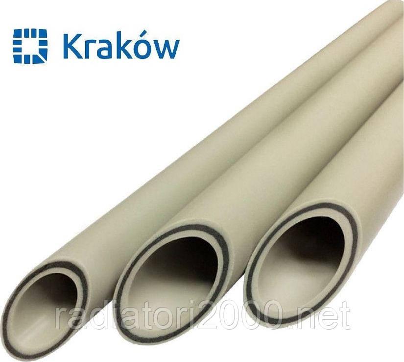Труба полипропиленовая композит базальт 25 KRAKOW (Польша)
