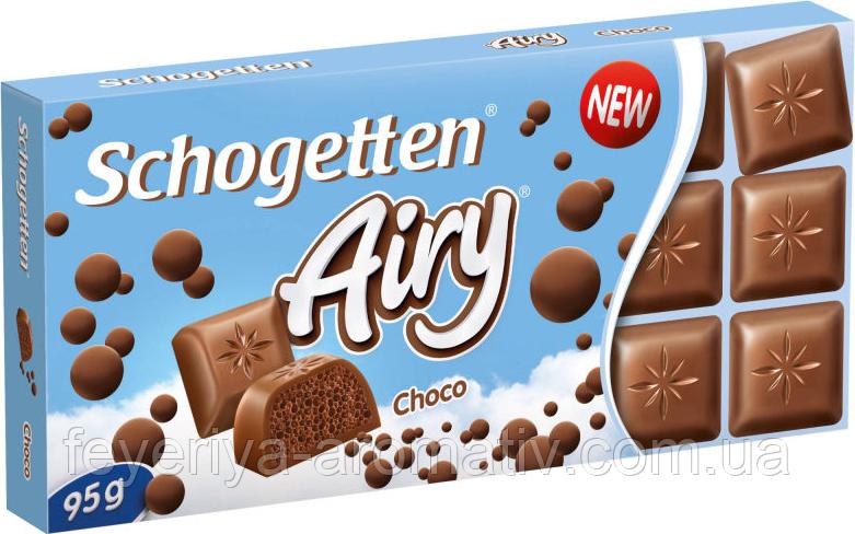 Шоколад Schogetten (Германия) Airy Choco, Молочный