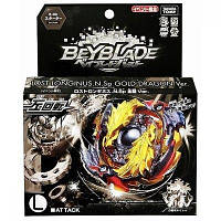 Takara Tomy Beyblade Burst B-00 WBBA Limited Starter Lost Longinus .N.Sp Gold Dragon Ver.Золотой дракон