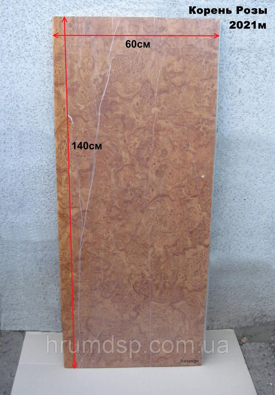 Столешница140см (толщина 28мм) корень розы