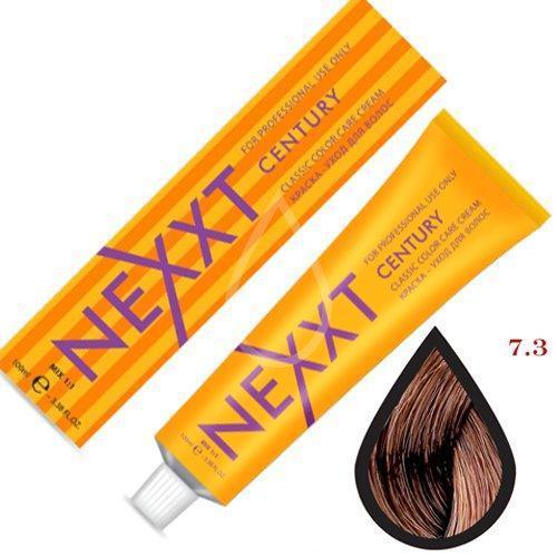 Крем-краска для волос Nexxt Professional 7.3 средне-русый золотистый 100ml