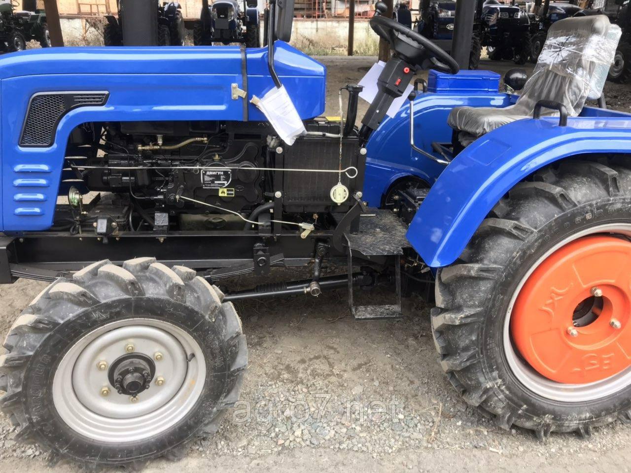 Трактор с доставкой DW 244B  (1 цил., (КПП 4+1)х2, зад. ВОМ)