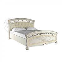 Ліжко 160х200 Роселла Люкс з м'якою спинкою без каркасу Миро-Марк