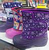 Зимние непромокающие сапожки  для девочки 29