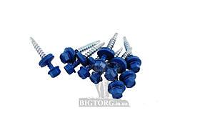 Саморез кровельный Алиста - 19 х 4,8 мм, RAL5005 синий (250 шт.)