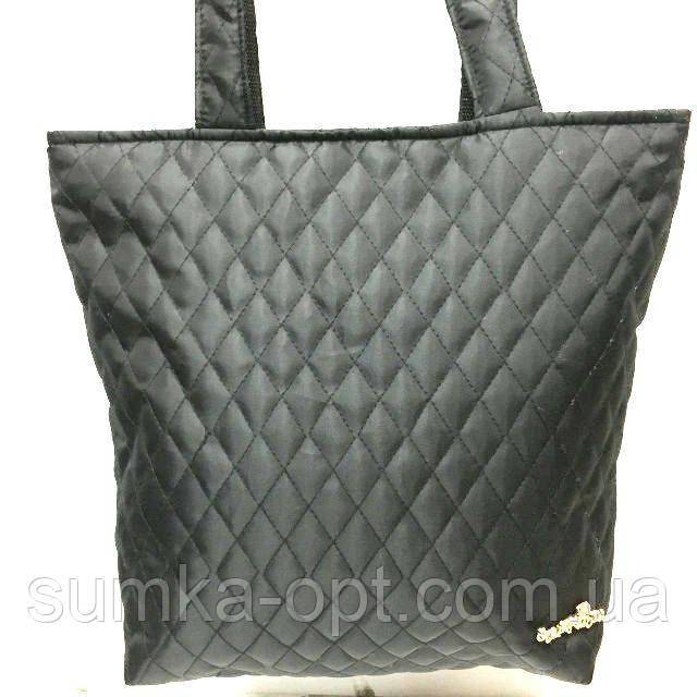 Стеганные женские сумки (черный)31*38см
