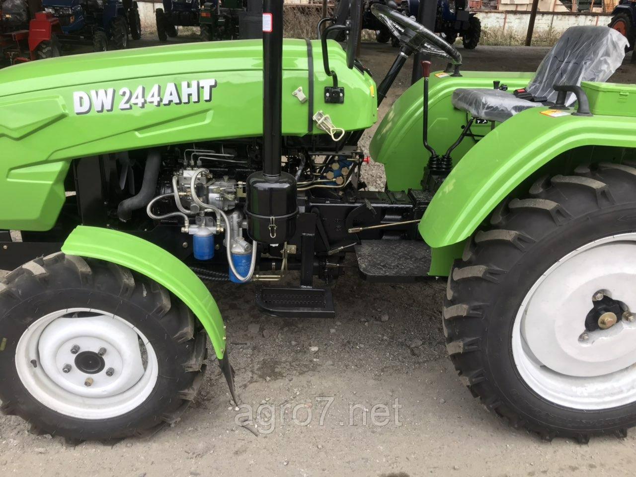 Трактор с доставкой DW 244 AHT (3 цил., 4х4, 24л.с., ГУР)
