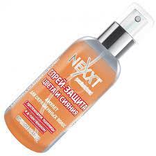 Спрей-защита цвета и блеска: амулет для окрашенных волос с протеинами и D-Panthenol Nexxt Professional 120ml