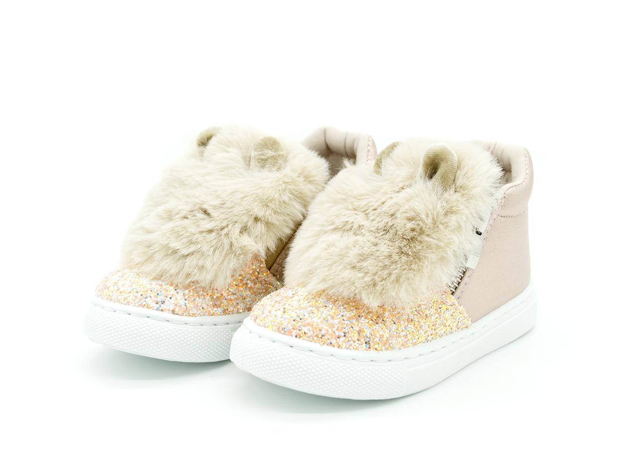 Кеды-ботинки NEW TLCK на девочку