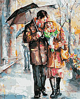 """Картина по номерам """"Осеннее свидание"""" 40*50см, фото 1"""