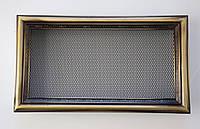 Решітка для каміна рустикальна 17х30см, фото 1