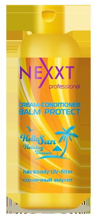 Крем-кондиционер Солнечный амулет, увлажнение и защита от солнца Nexxt Professional 250ml