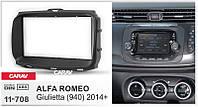 Рамка переходная Carav 11-708 Alfa Romeo Giulietta (940) 2014+