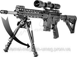 Сошки TipTop S9 Tactical, EZ Pivot, 7-10.5'', на Picatinny
