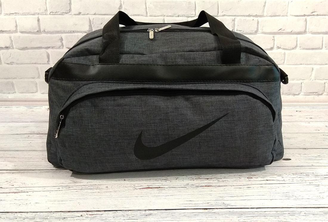 cdf97c58b4ecaf Серая Спортивная Сумка Nike — в Категории