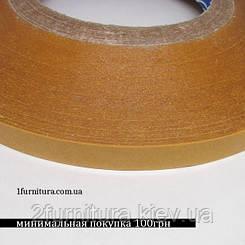 Скотч двухсторонний для кожи 100м - 10мм
