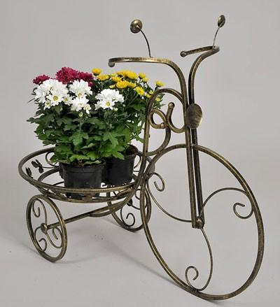 Подставки для цветов Велосипеды кованые.