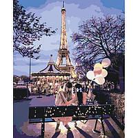 Картина по номерам Подружки в Париже