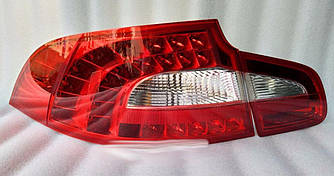 Диодные фонари LED тюнинг оптика Skoda Superb 2