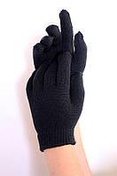 Перчатки детские черные AAA 9417