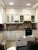 Кухня классическая белая, фото 1