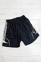Шорты с подкладом темно синие Adidas 0864