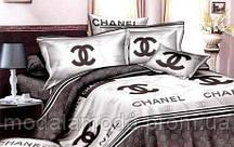 Евро набор постельного белья из Ранфорса Chanel