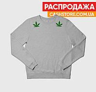 Свитшот | Cannabis | Размер S | Мужской | Женский