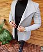 Мужское шерстяное (70%) демисезонное пальто 4 цвета в наличии, фото 6