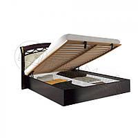 Кровать 160х200 Роселла мягкая спинка с подъемным механизмом и каркасом Миро-Марк
