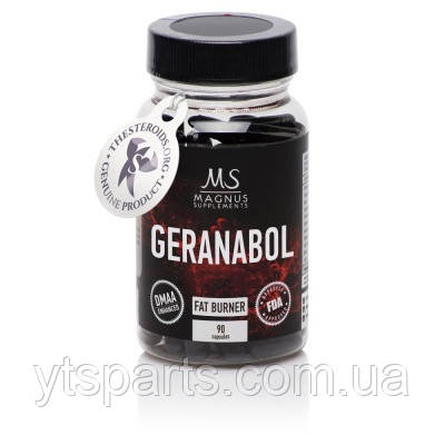 Magnus Supplements Geranabol 90caps