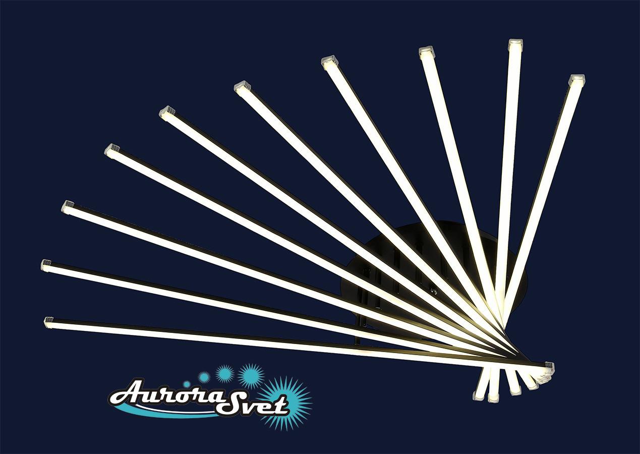 Люстра подвесная AuroraSvet 027. LED светильник люстра. Светодиодный светильник люстра.