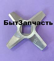 Ніж двосторонній (№8) Zelmer 86.3109 Original для м'ясорубки, фото 1