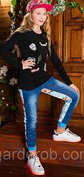 Яркие котоновые джинсы детские !( 134-164см)
