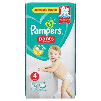 Подгузники-трусики Pampers Pants Размер 4 (Maxi) 9-15 кг, 52шт