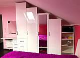 Детская мебель белая глянцевая, фото 4