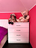 Детская мебель белая глянцевая, фото 5