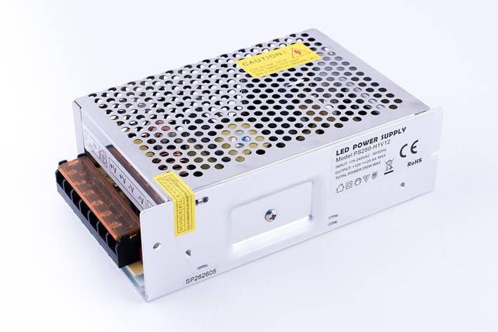 Блок питания 12V серия LED 250W, фото 2
