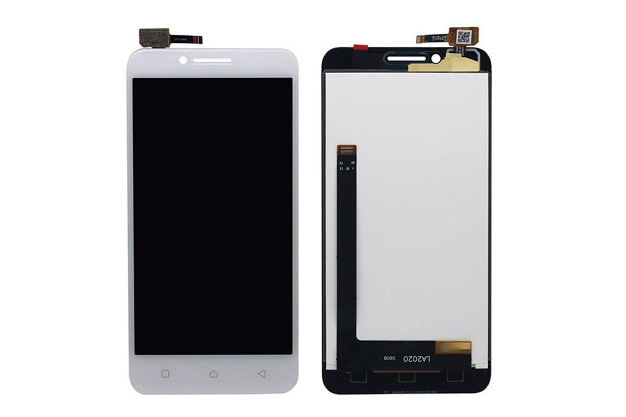 Дисплей для Lenovo A2020 (A2020a40) Vibe C с тачскрином белый Оригинал