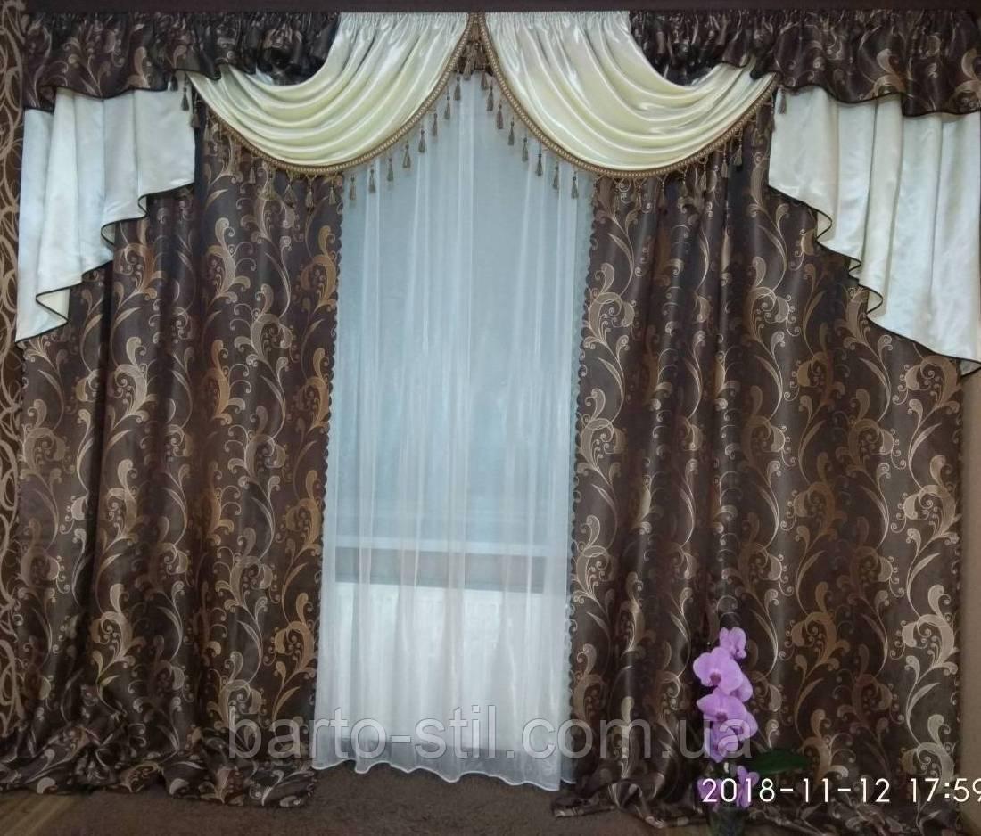 """Комплект """"Корнелия"""" для спальни, гостиной, залы Разные цвета Высота 2.7 м"""