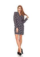 Трендовое платье-пиджак. П129, фото 1