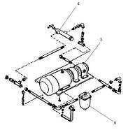 Насос масляный поршневого компрессора