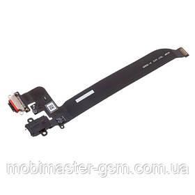 Шлейф OnePlus 5 с USB и HF коннектором