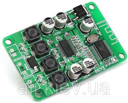 Усилитель 2*15Вт с Bluetooth ТРА3110 DC 8 -24V D-класс Підсилювач  аудио плата