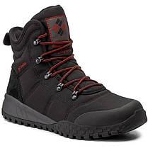 """ОРИГИНАЛ! Зимние кроссовки, ботинки Columbia Fairbanks Omni-Heat """"Black Rusty"""" (Черные), фото 2"""